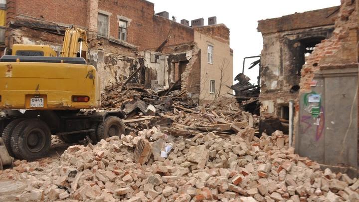 Бездомных лишили ночлежек: В центре Ростова-на-Дону в один день снесли три дореволюционных здания