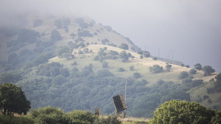 Израиль ответил наупавший вбуферную зону снаряд ударом попосту САА