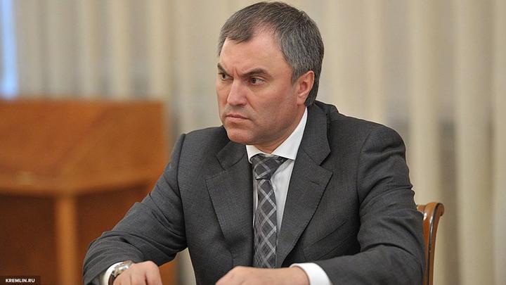 Володин призвал без суеты и паники работать по предотвращению терактов