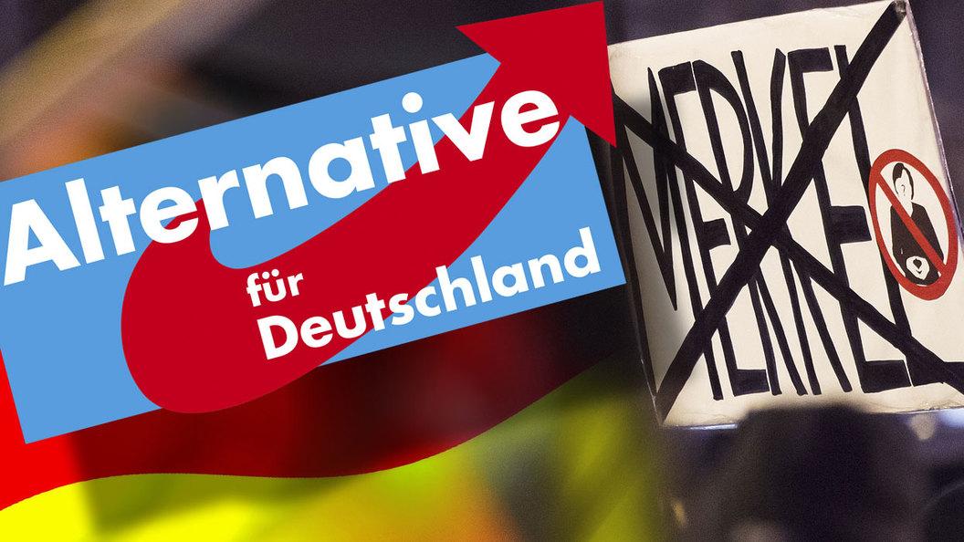 Берлин еще не пал. Но почва под германским канцлером уже дрожит
