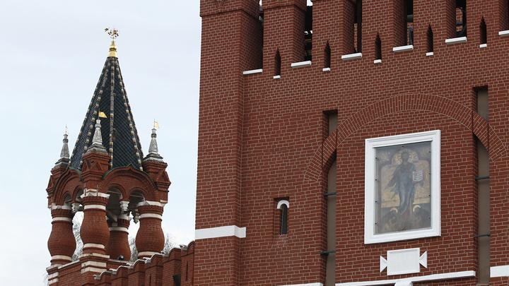 Возвращение кремлевских святынь