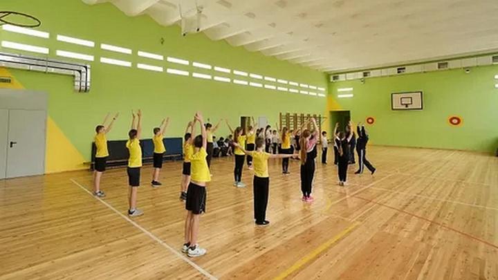 В девяти сельских школах Кубани отремонтировали спортзалы