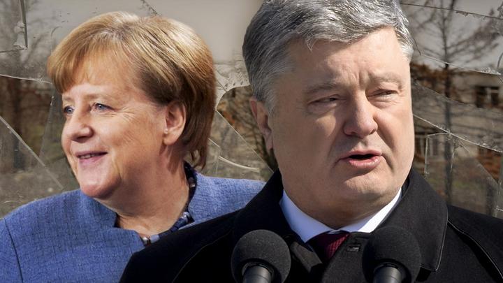 Порошенко попросит у Меркель миротворцев для Донбасса