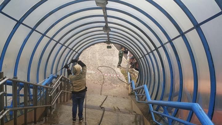 Надземный переход на проспекте Гагарина в Нижнем Новгороде собираются ремонтировать