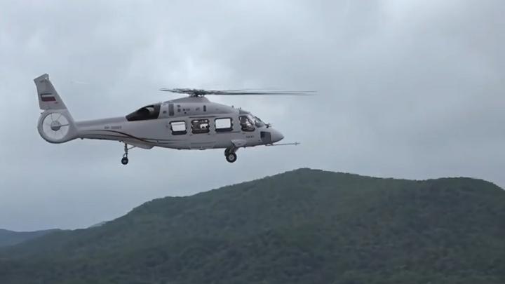 Вертолеты России презентуют вертолет Ка-62 на III Восточном экономическом форуме