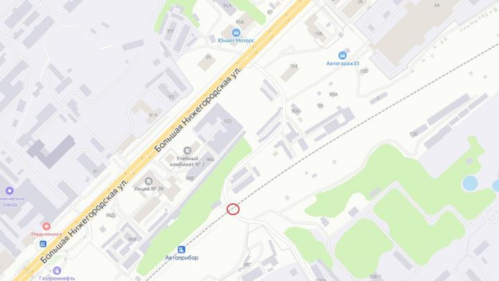 Вечером 13 октября во Владимире ограничат движение на Большой Нижегородской в районе ж/д переезда