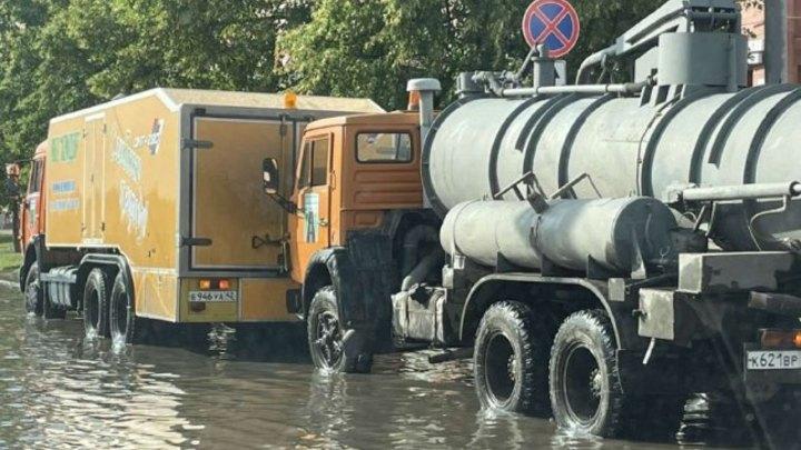 Электроснабжение на 3,7 тысячи объектов в Кемерове восстановлено после сильного ливня
