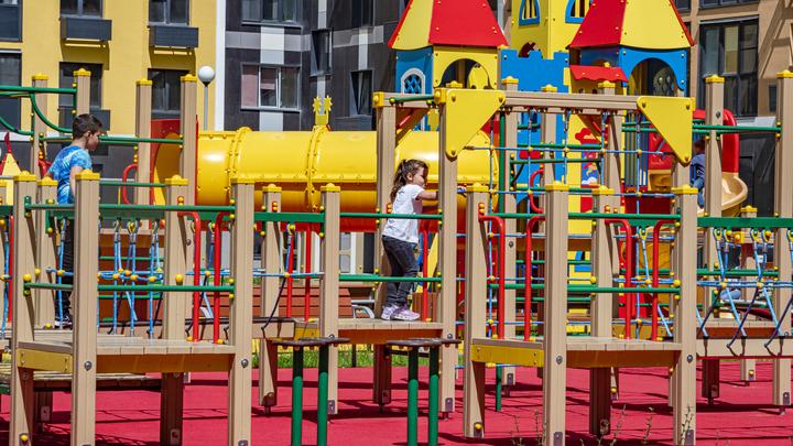 Детские площадки в Подмосковье будут открывать в торжественной обстановке