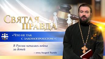 Что не так с законопроектом: В России началась война за детей – отец Андрей Ткачёв