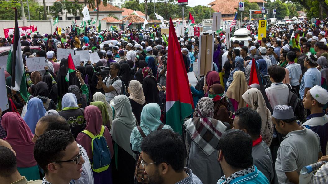 Мусульмане готовятся к мольбе  вИерусалиме, после этого  планируется «день гнева»