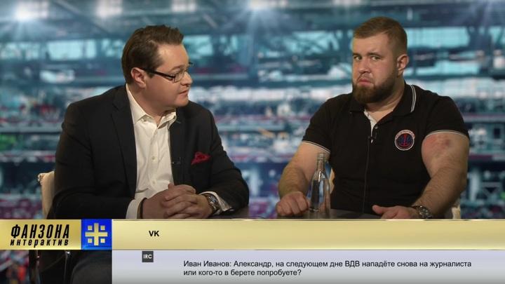 Избивший репортера НТВ Орлов-Колобан жалуется, что не получил деньги за бой