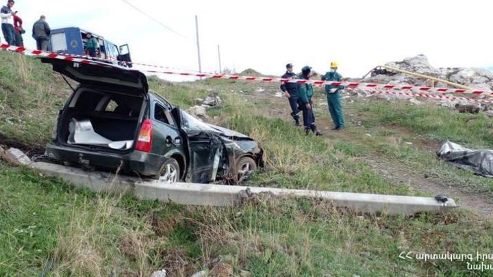 В аварии в Гегаркуникской области погиб человек