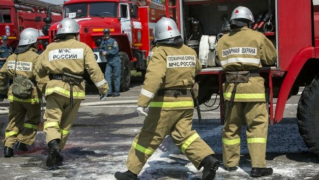 Пожар произошел на одном из предприятий Алросы в Якутии