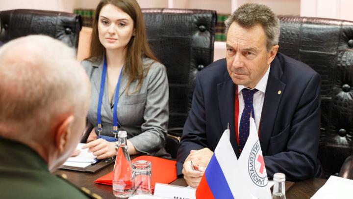 Красный крест наращивает сотрудничество с миротворцами России