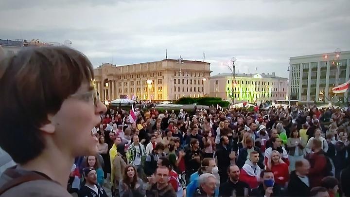 Беспорядки в Белоруссии: Задержаны более 90 активистов, милиция применила спецсредства