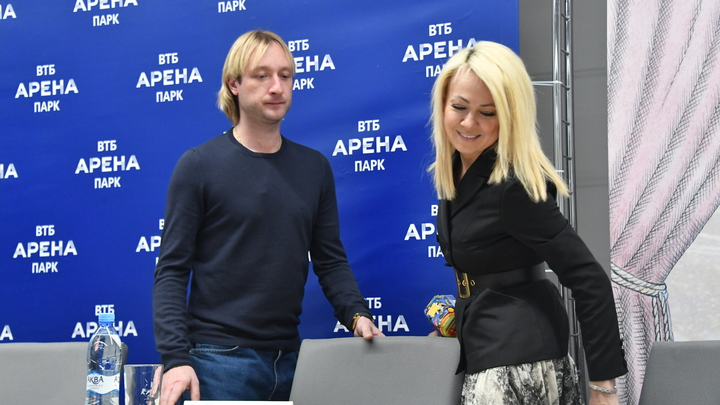 Ты как будто отбываешь наказание:  Ургант зло подшутил над женитьбой Плющенко на Рудковской