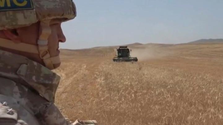 К «битве» за урожай в Карабахе приступили миротворцы России