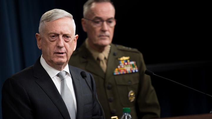 За базар не отвечаем: Глава Пентагона отказался от обвинений в адрес России