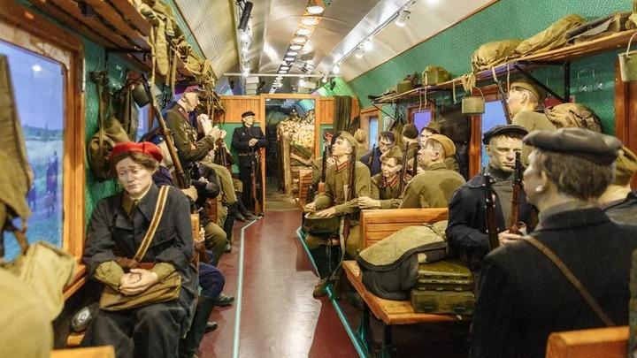 Сегодня на екатеринбургский вокзал прибудет «Поезд Победы»