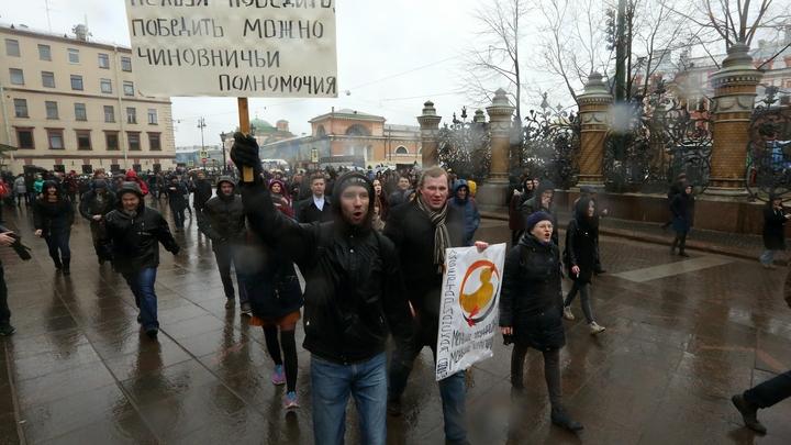 Почти 90 процентов: Большинство в России не готовы участвовать в протестах