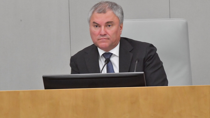 Один умер, один в реанимации: Володин сообщил Путину о подкошенной COVID Госдуме