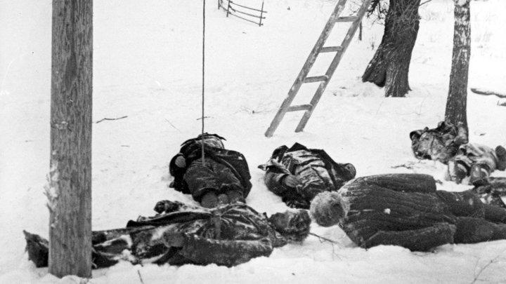 Отрезали голову тесаком, распороли живот: Выставка о подвигах поляков открылась в Москве