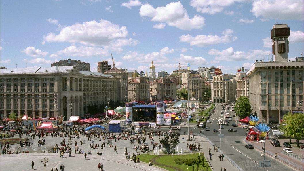 Киевляне устроили протест против переименования проспекта в честь лидера УПА
