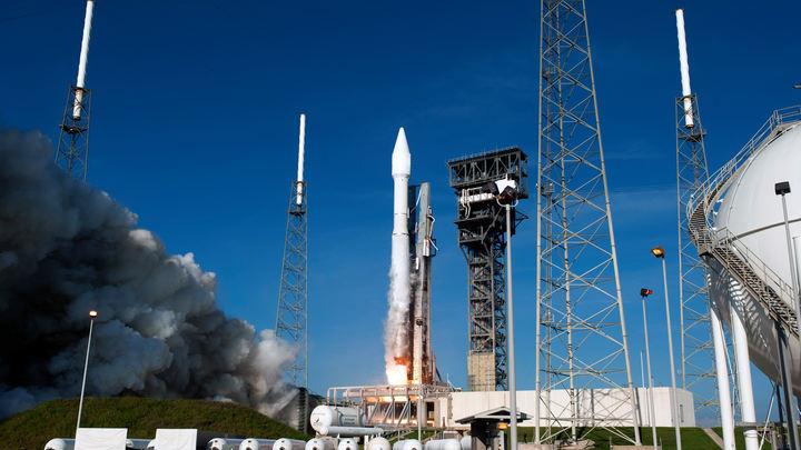 В США запустили ракету с секретным спутником для разведки