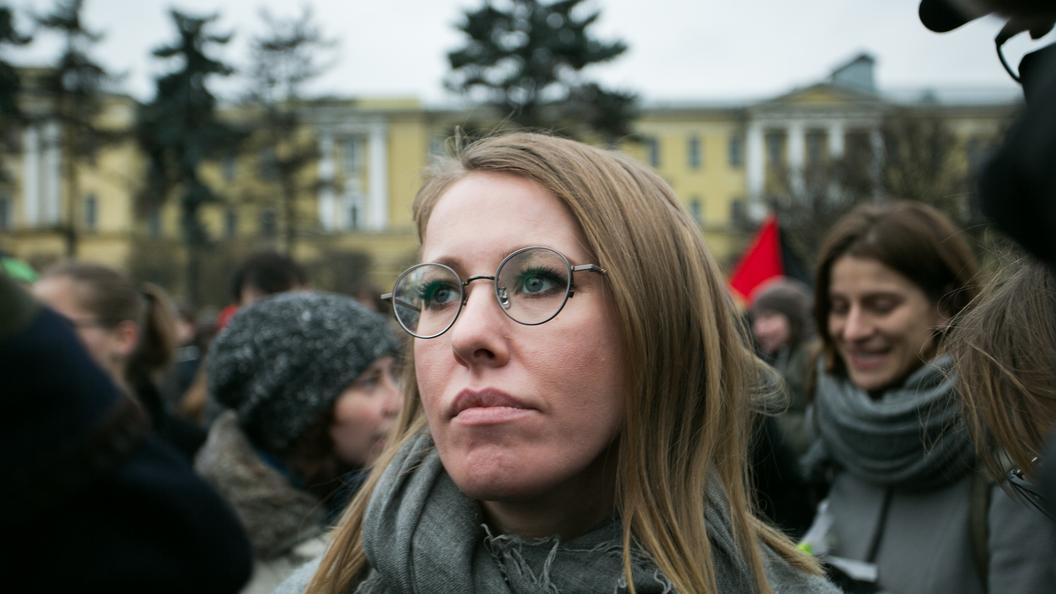 Говорить— немолчать: Собчак назвала цель своего участия ввыборах