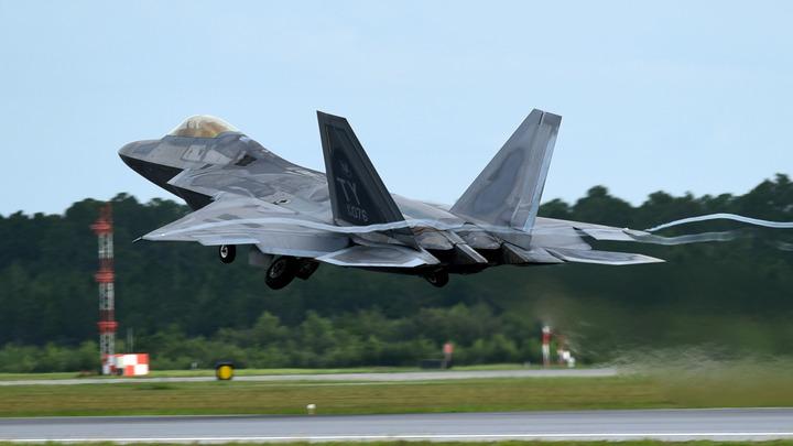 Эскадрилья истребителей США прибыла в Германию «сдерживать Россию»