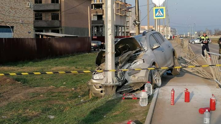 В Динском районе сотрудница полиции сбила школьника