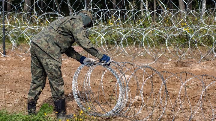 324 нелегала пытались прорваться через границу Польши