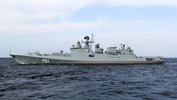 Корабли ВМФ России начали отрабатывать уничтожение противника у берегов Сирии