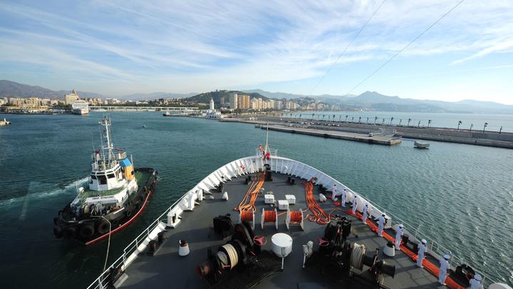 ВМС США показали эсминец Carneyв Черном море