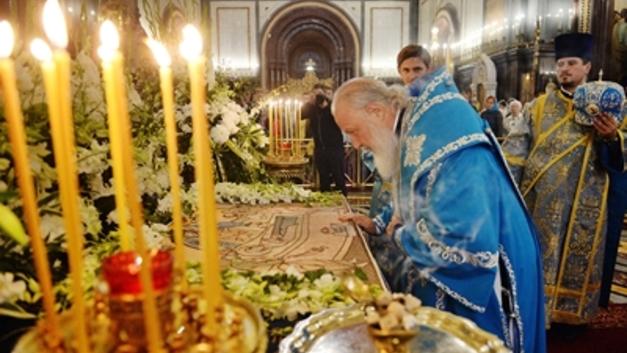 «Сама жизнь требует, чтобы Кремль оставался духовным центром»: Патриарх Кирилл совершил богослужение