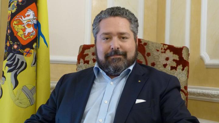 Великий князь Георгий Михайлович прибыл на конференцию в Крым