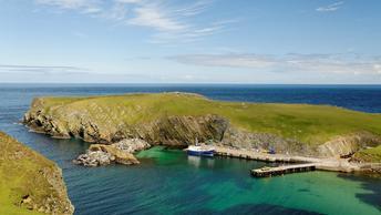 Впервые за 70 лет в Шотландии выставлен на продажу остров Алва