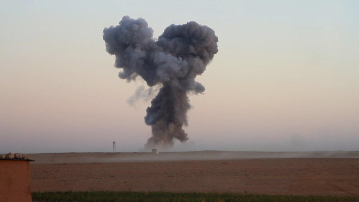 Военные раскрыли, как «Солнцепеком» в Сирии выкуривали боевиков из их подземного логова