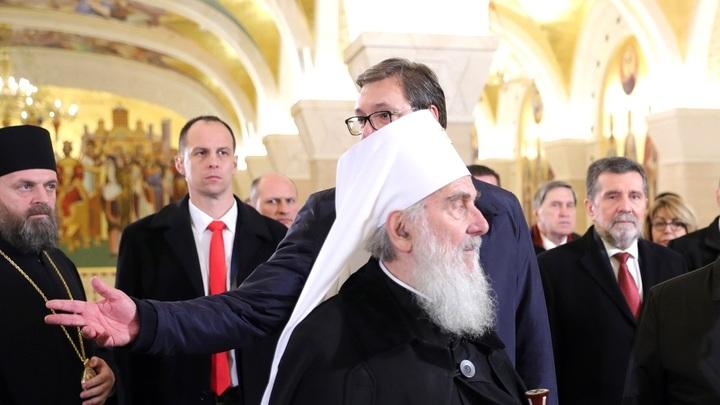 Сербская Церковь признает только Украинскую Православную Церковь. Письмо Патриарха Иринея