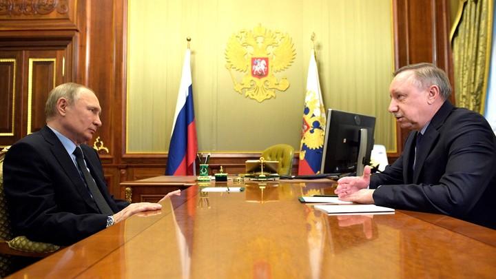 «Ситуация с коронавирусом не критическая»: Владимир Путин выслушал оправдания Александра Беглова