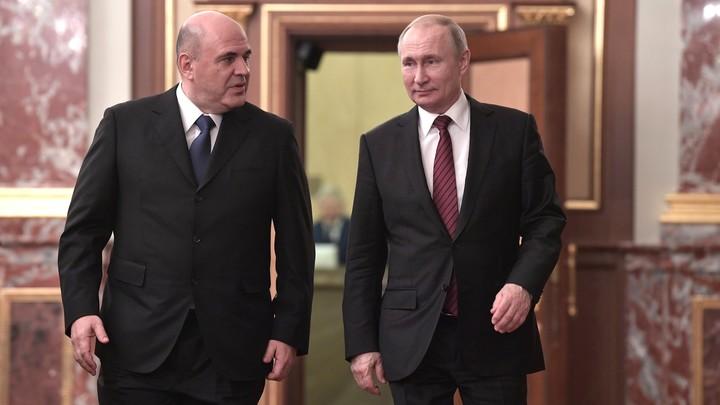 Путин вернул Мишустину премьерские обязанности