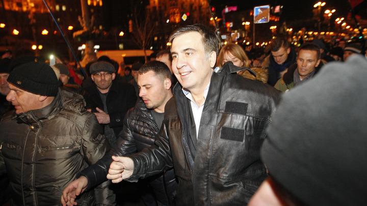 Саакашвили пригрозил песней комедиантам из СБУ