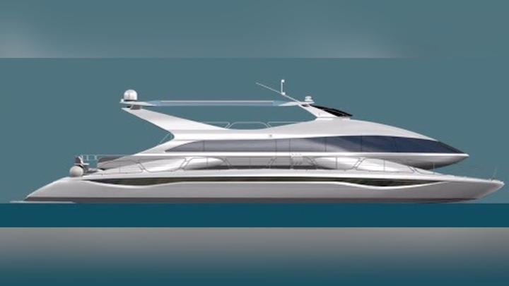 Пассажирский электрокатамаран войдёт в состав нижегородского речного флота