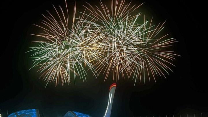 В Олимпийском парке Сочи с 18 июня стартует парад фейерверков
