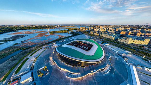 Поберечь поляну: тренировки сборных Бразилии и Бельгии на «Казань-Арене» отменены