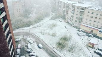 Новый циклон обрушился на Камчатку