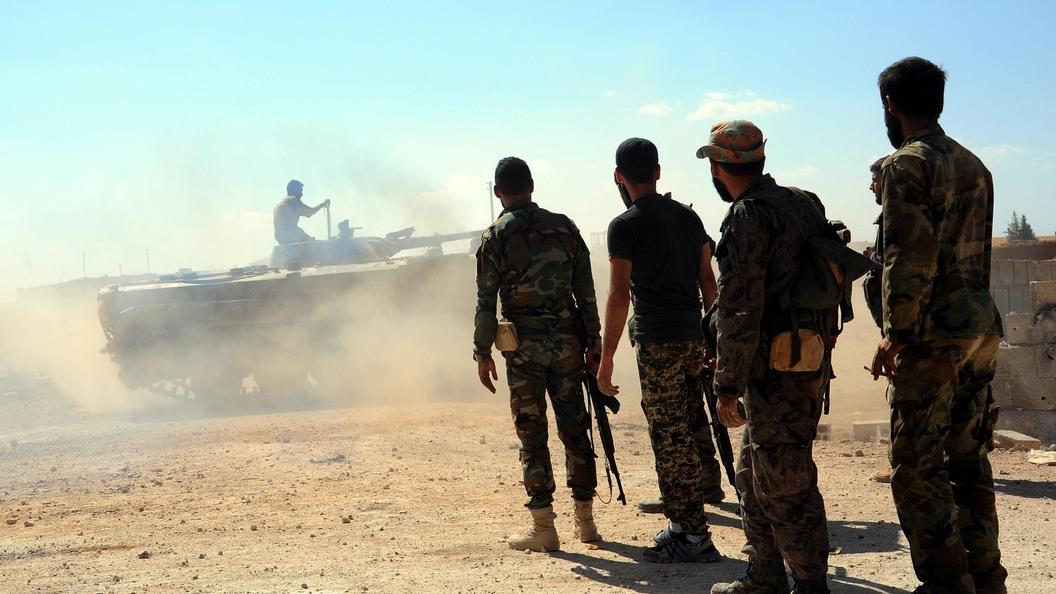 Сирийские ПВО «отразили» вторжение ВВС Израиля