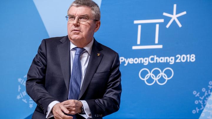 Бах поспешил оправдаться перед российскими олимпийцами за допинг их товарищей