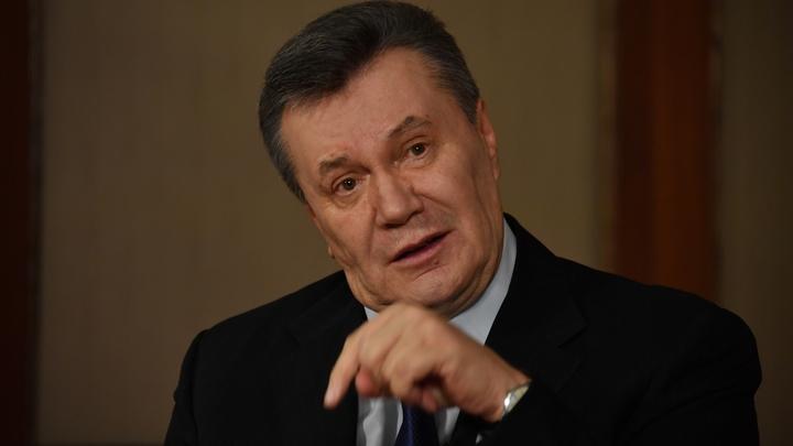 Янукович опроверг наличие прямых контактов с Манафортом в прошлом