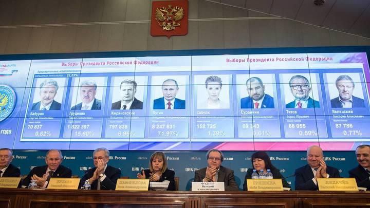 В США на выборах президента проголосовали за Путина